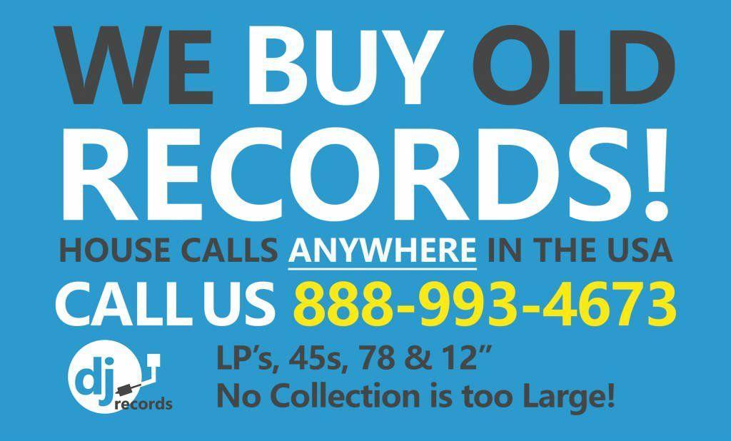 Sell Vinyl Records – Where to Sell Old Records – We Buy Vinyl Records